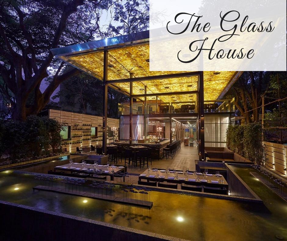 Romantic Restaurants in Bangalore the glass house