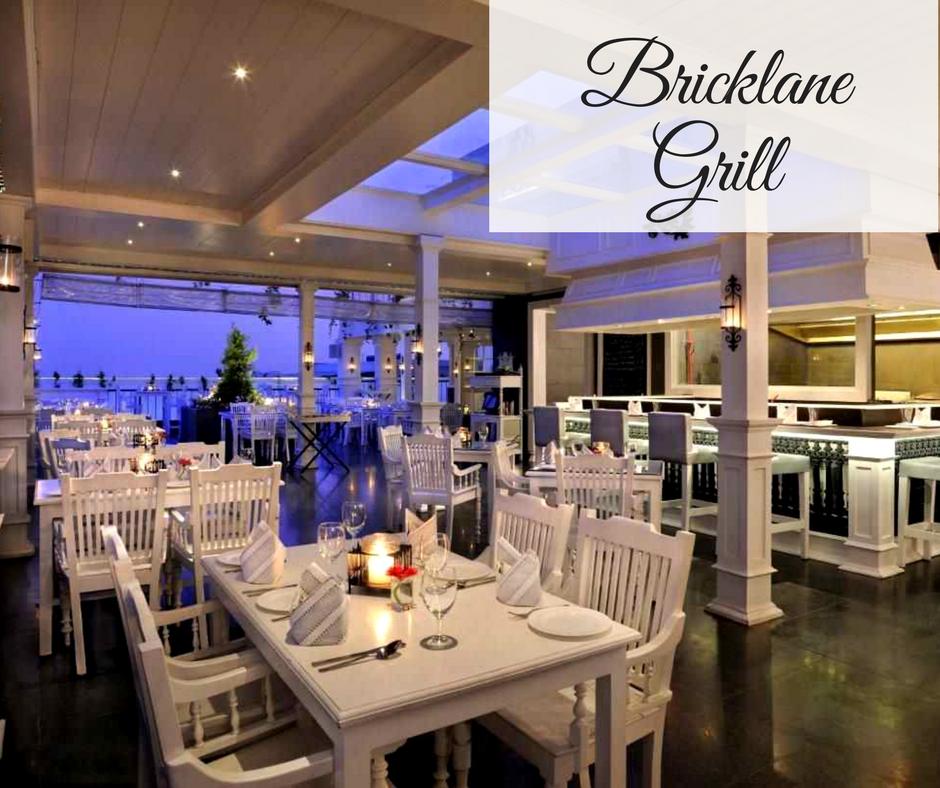 Romantic Restaurants in Bangalore bricklane