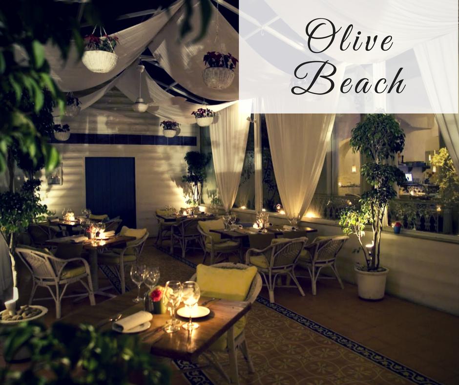 Romantic Restaurants in Bangalore olive beach