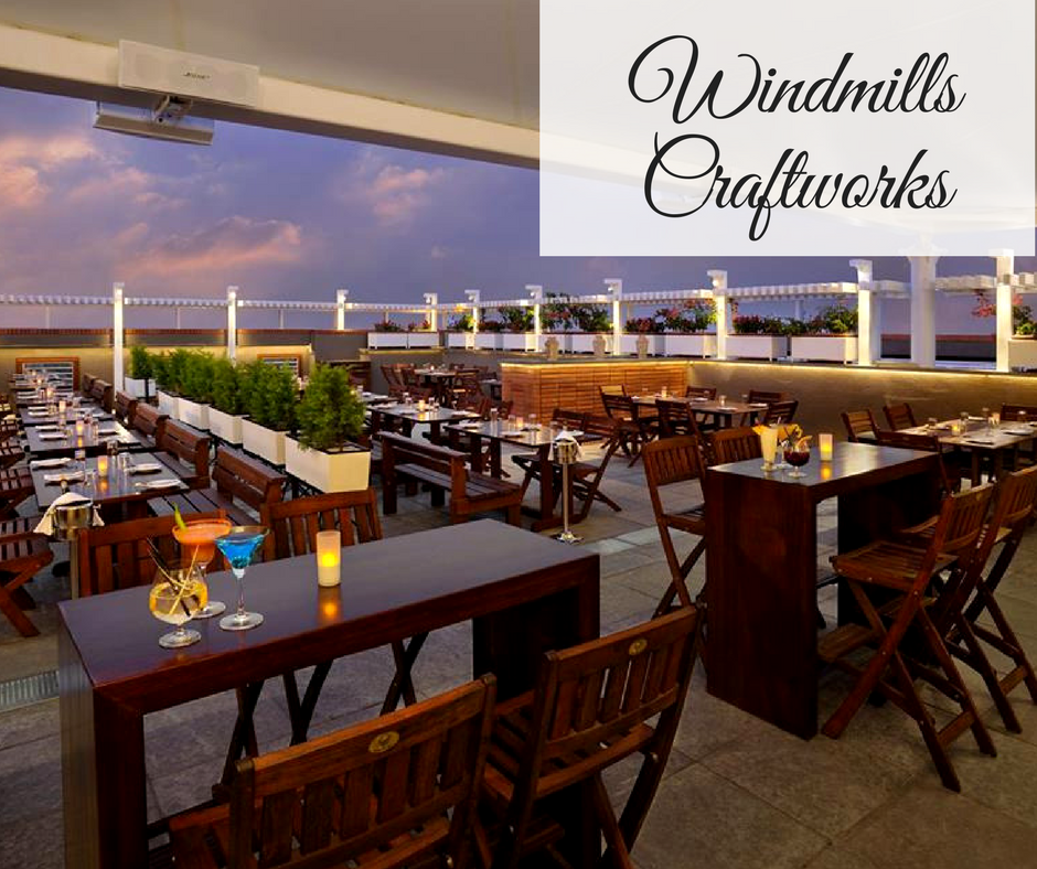 Romantic Restaurants in Bangalore windmills craftworks