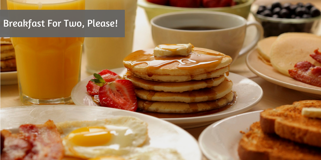 10 romantic things to do on Valentine's Day in Delhi american breakfast