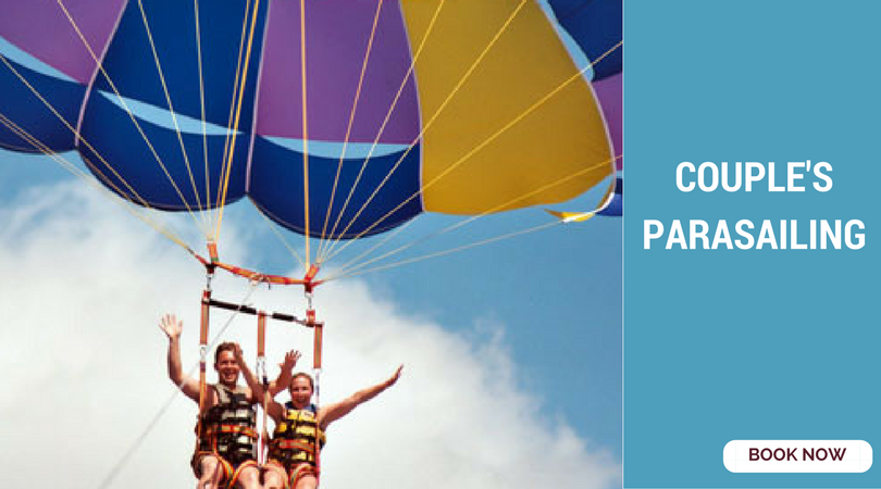 romantic things to do in Bangalore parasailing
