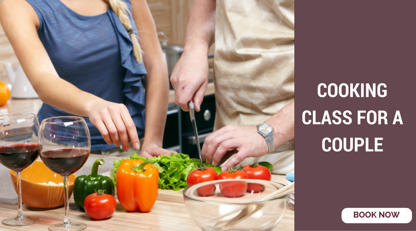 romantic things to do in Bangalore cooking class
