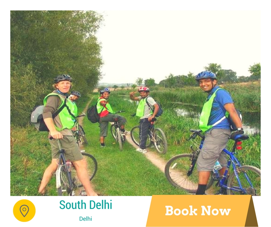 Things to do in Delhi cycle tour