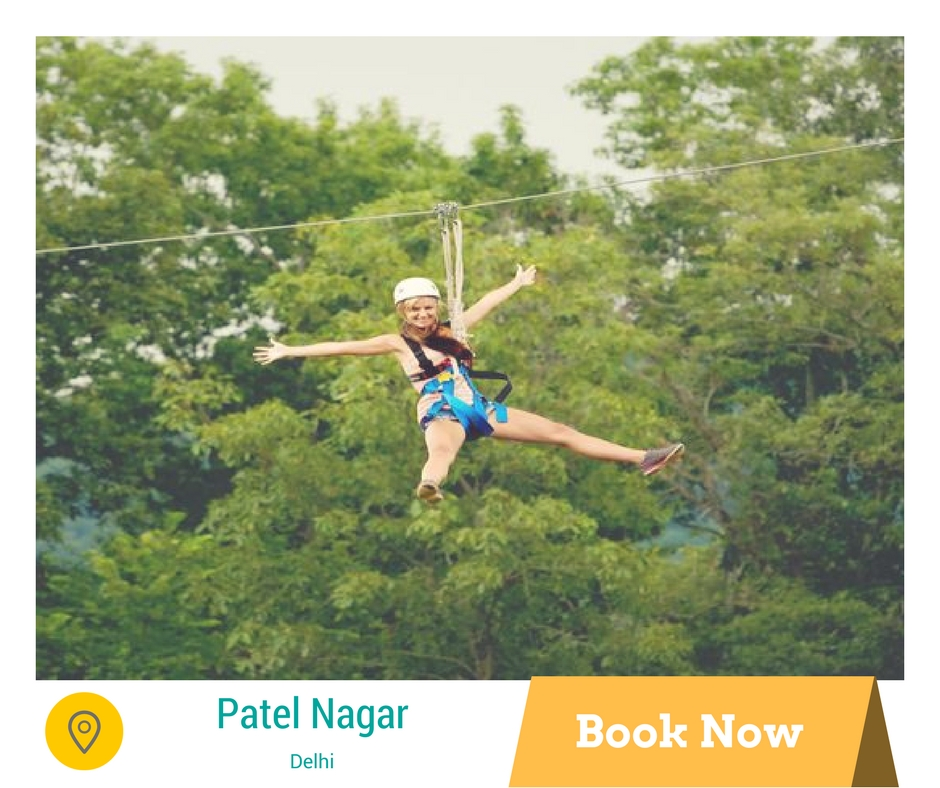 Things to do in Delhi zip line tour