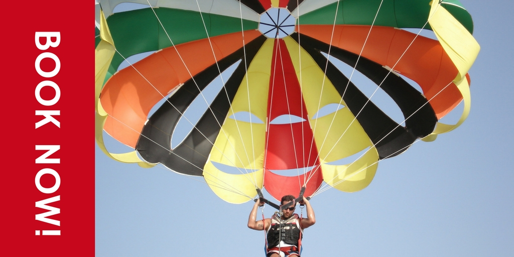 Parasailing in Bangalore things to do in Bangalore