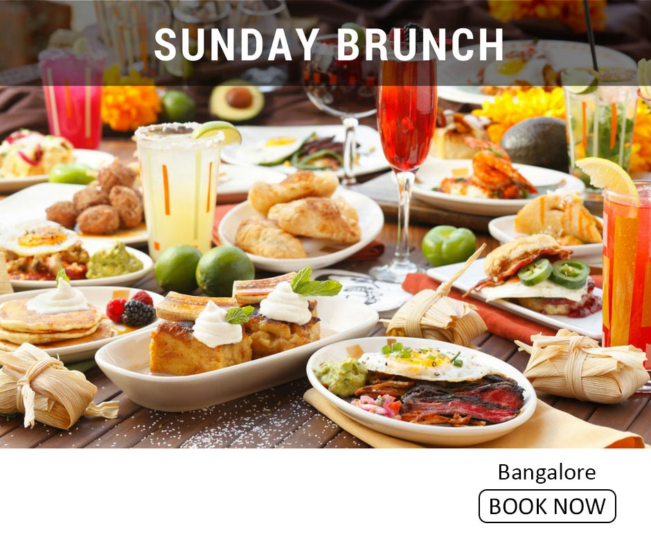 fun things to do in bangalore sunday brunch