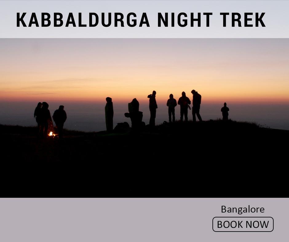 fun things to do in bangalore night trek