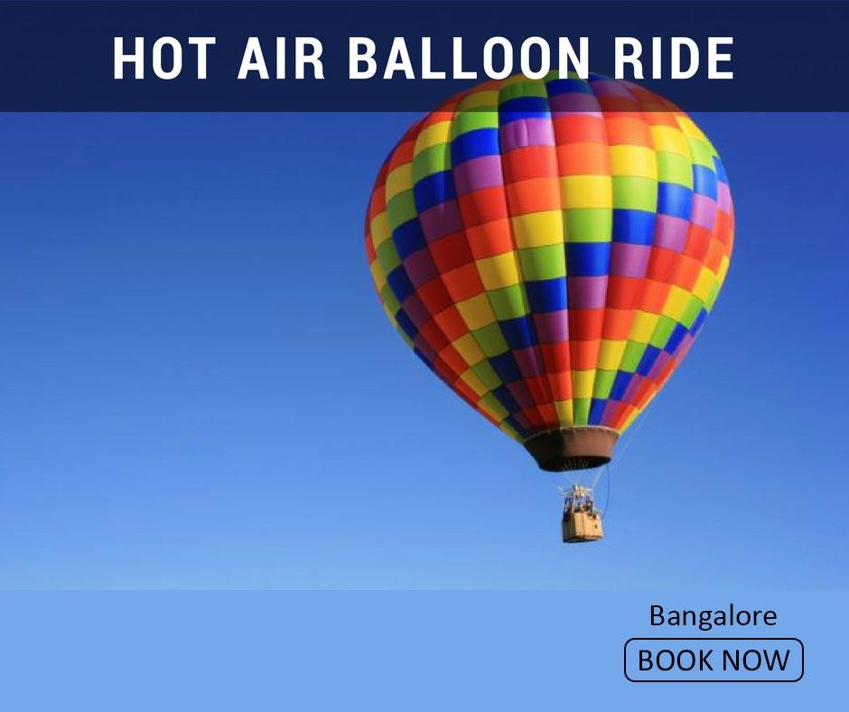 fun things to do in bangalore hot air balloon ride
