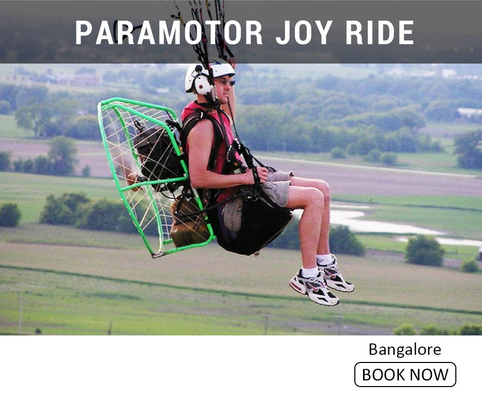 fun things to do in bangalore paramotor joy ride