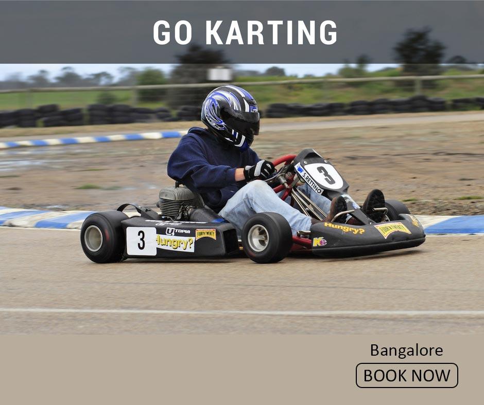 fun things to do in bangalore go karting