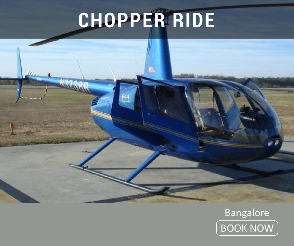 fun things to do in bangalore chopper ride