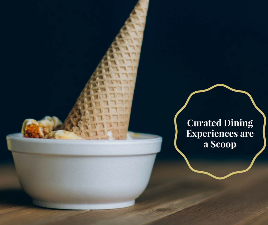 curated dining experiences scoop photo