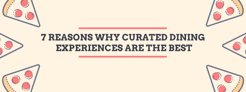 curated dining experiences banner one