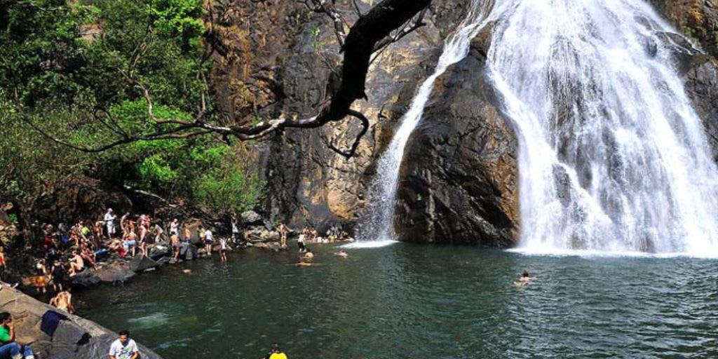 trekking in Goa - pali falls