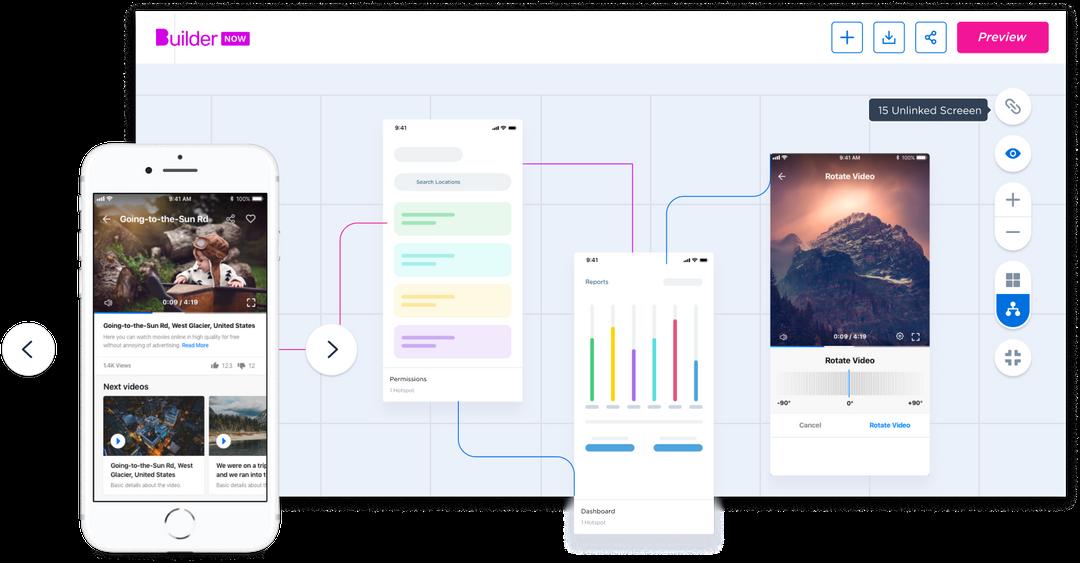 Prototype interface image