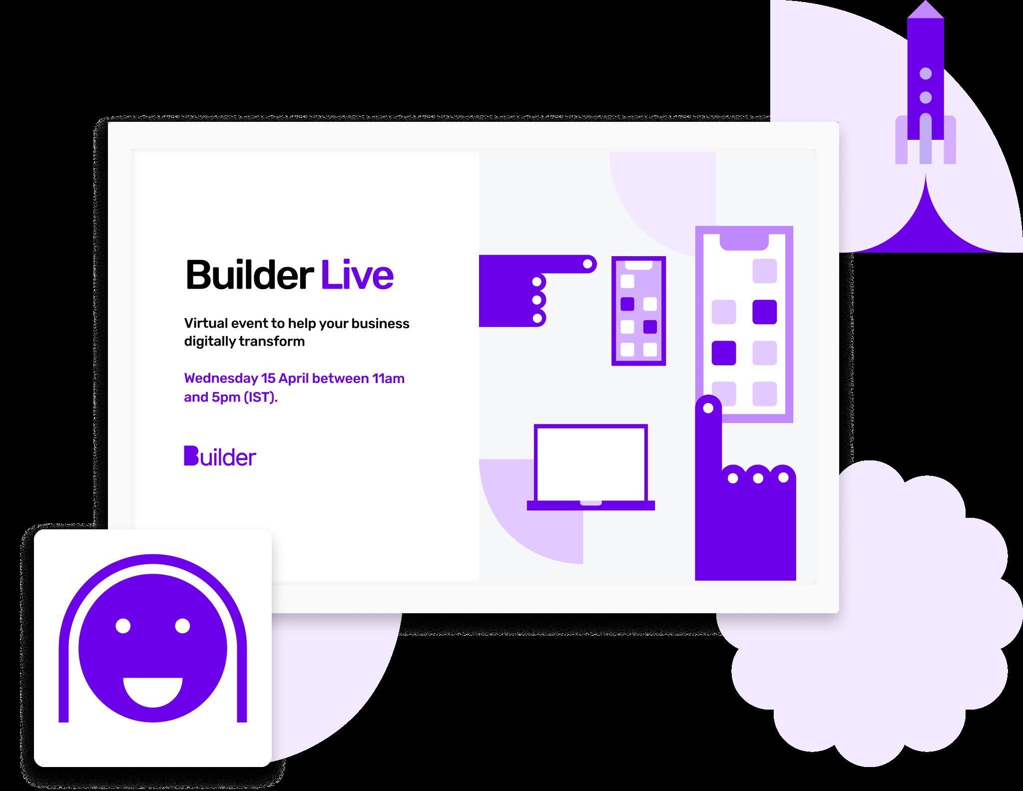 Builder Live illustrative screen