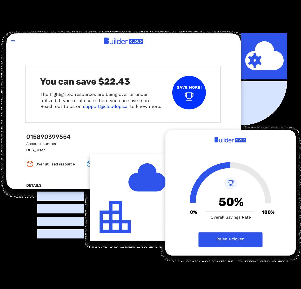 Builder Cloud dashboard