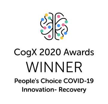 CogX 2020 Awards Winner People's choice COVED-19 innovation - Recovery
