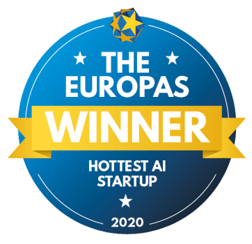 The Europas Winner Hotest AI Start Up 2020