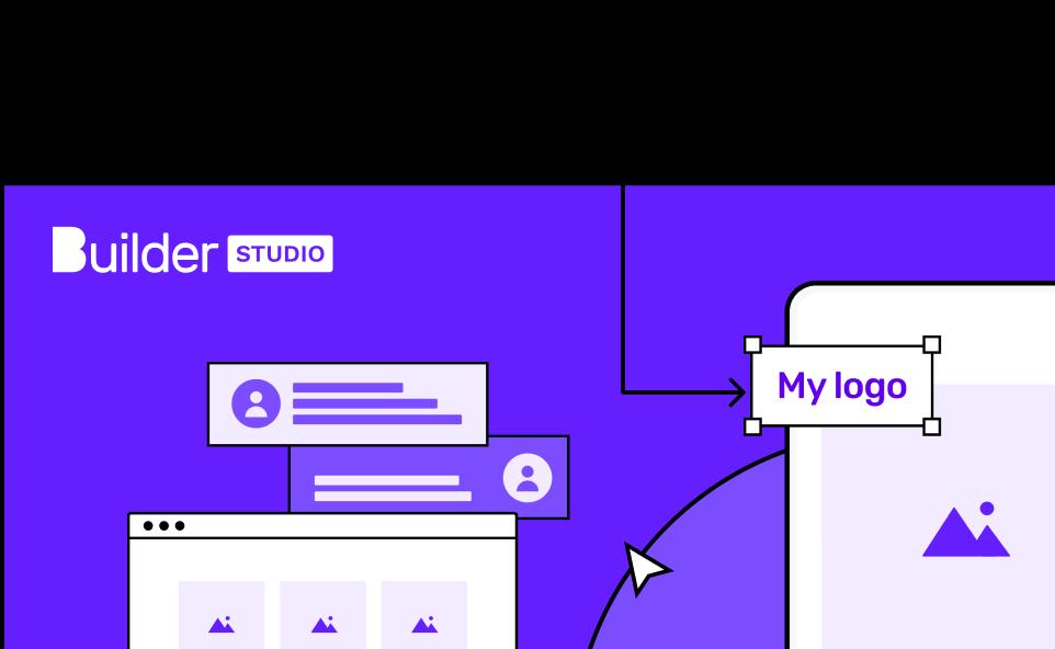 Builder Studio app building illustration