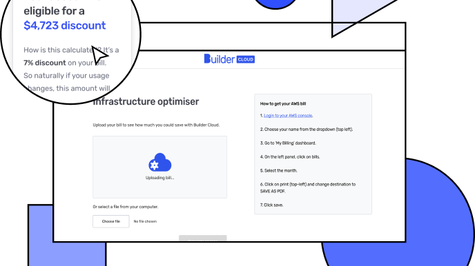 Builder Cloud infrastructure optimiser