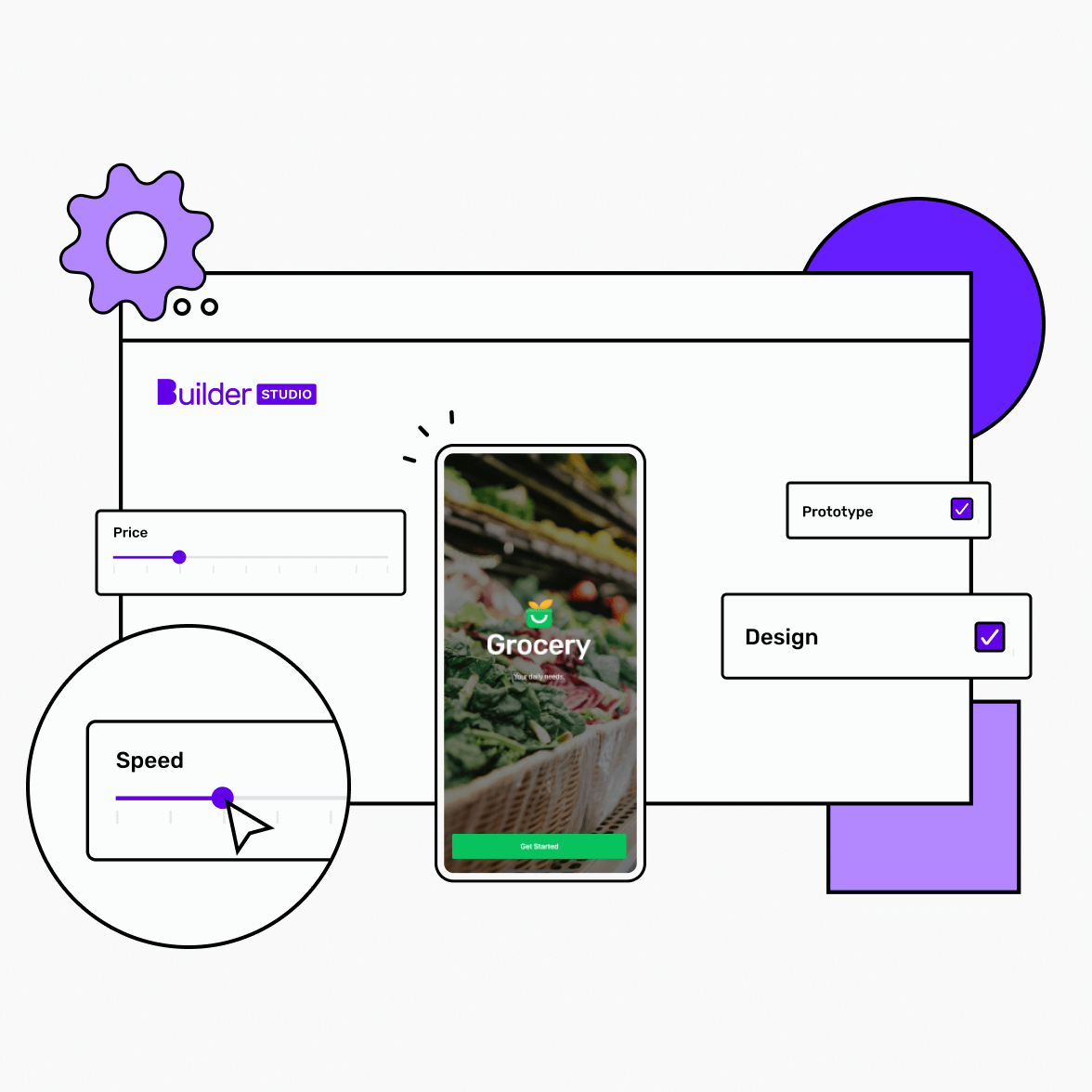 app launch illustration screen