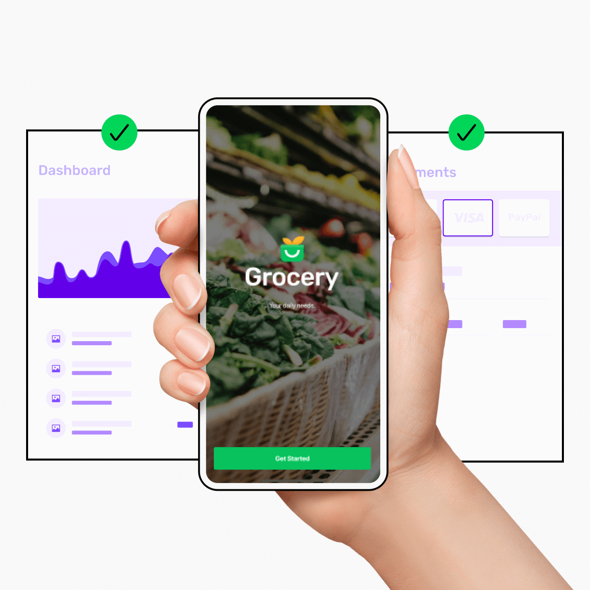 app builder illustrative screen