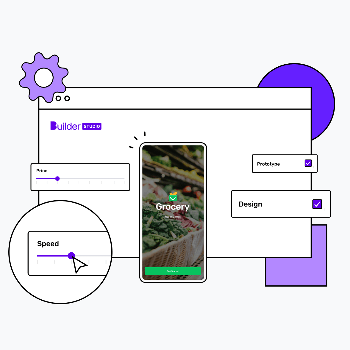 Grocery app Image