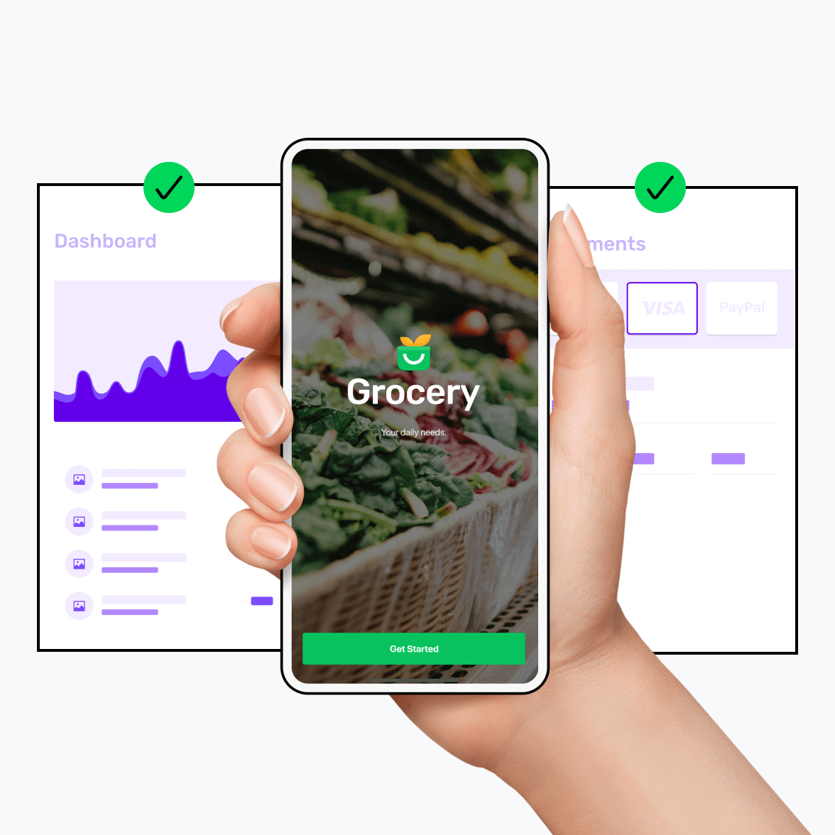 SMBs - grocery app