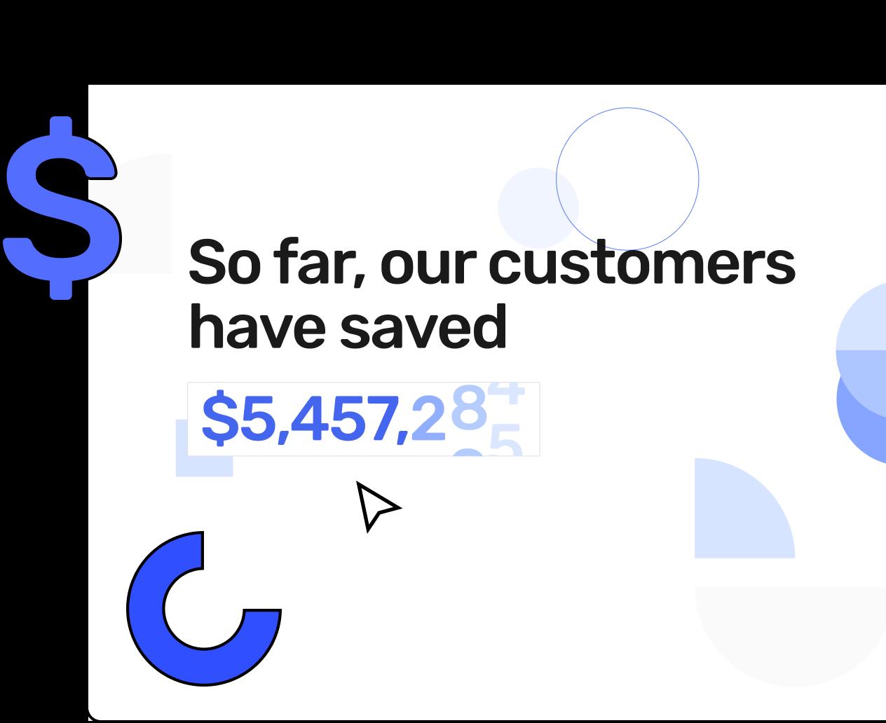 Cloud savings