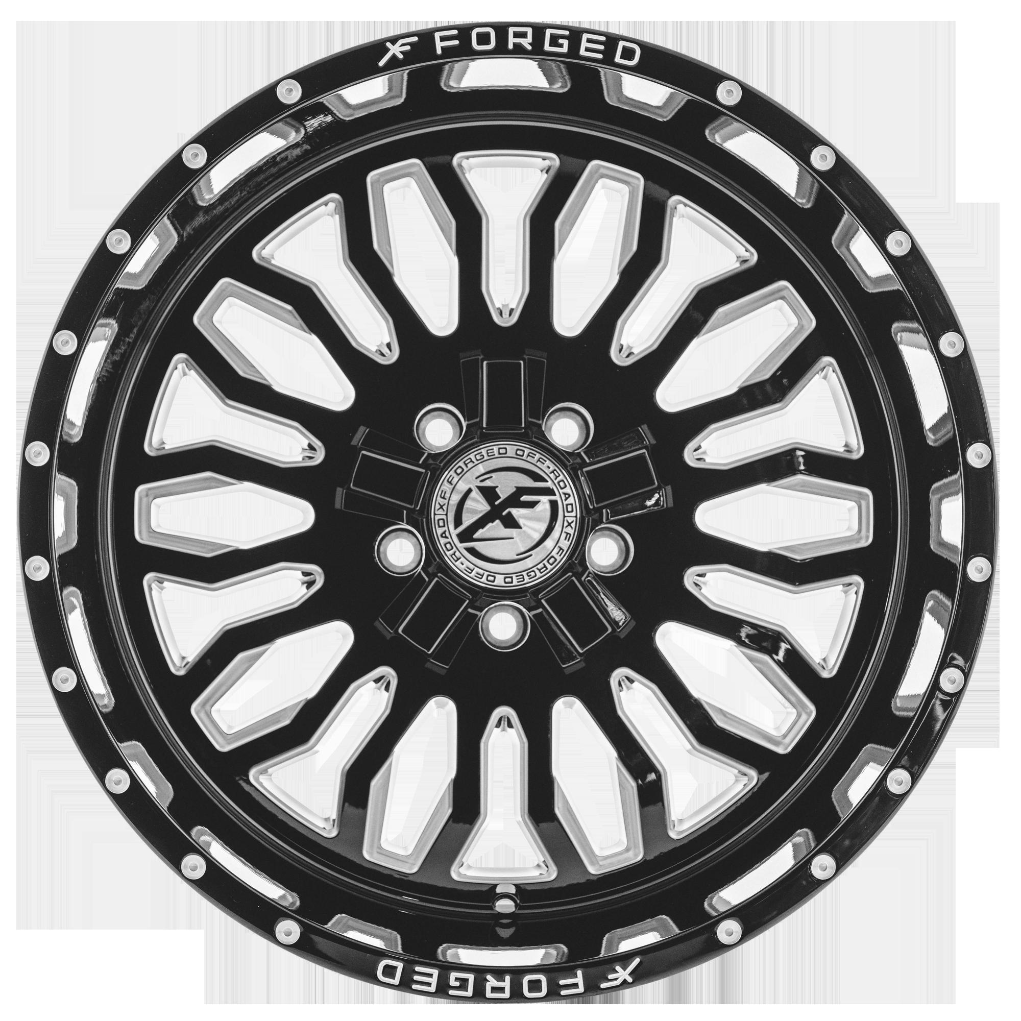 Xf Offroad Xf 223 20x10 5x5 5 5x150 12mm Black Milled Wheel Rim 20 Inch