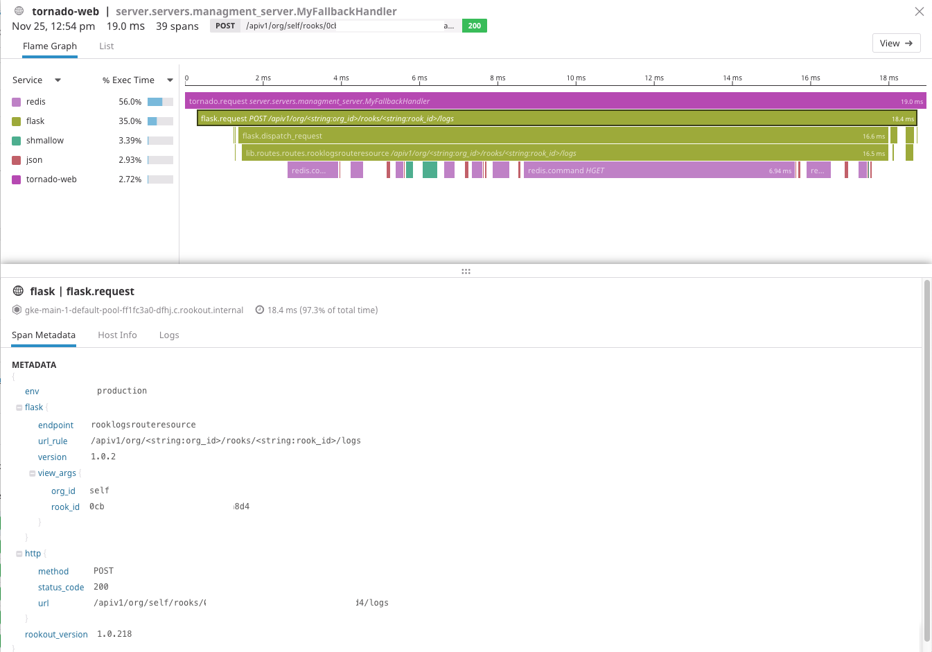 Datadog Tracing