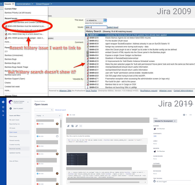 Jira - 10 Years Challenge