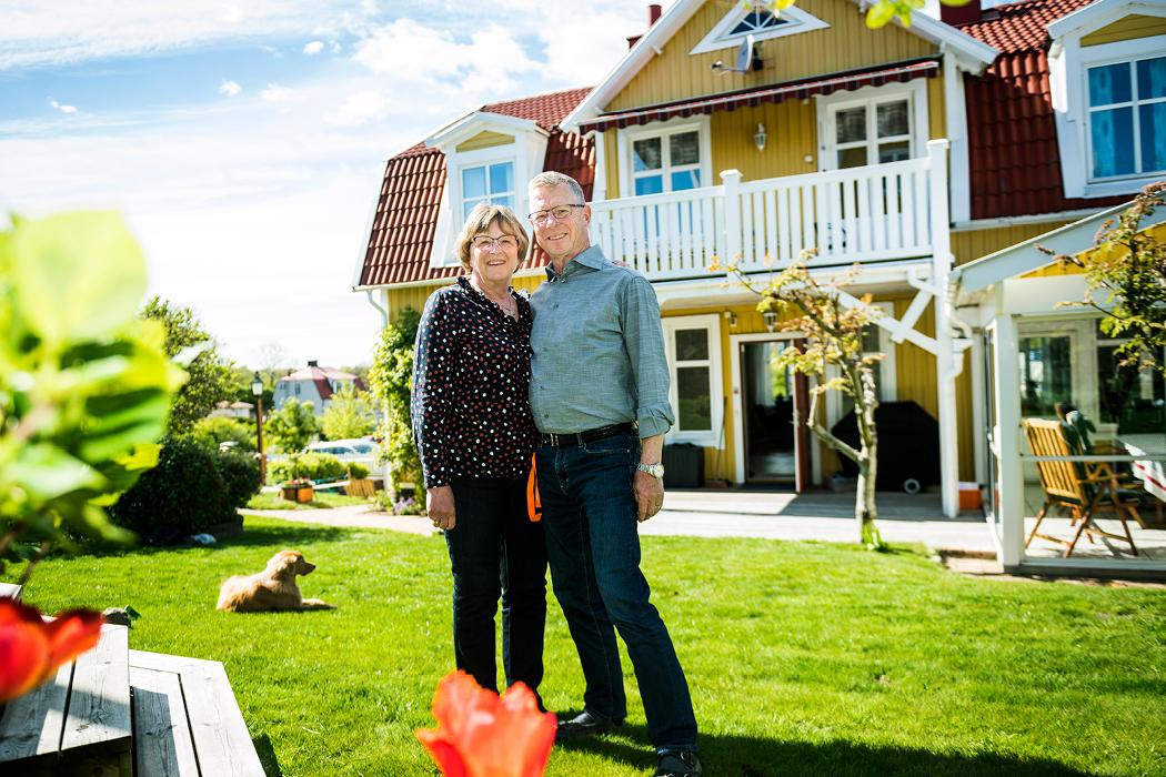 Eva och Lars Franzén