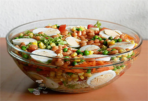 Kingsway Cafe Nigerian Salad