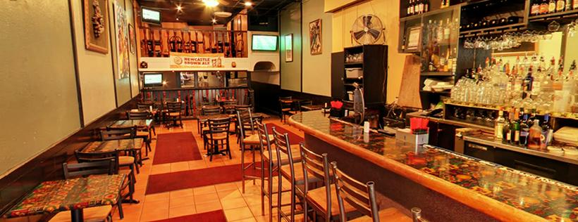 Inside Bukom Cafe