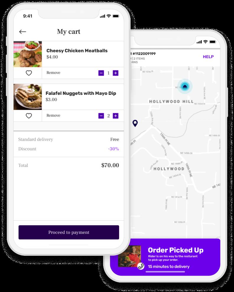 E-commerce app for MVP