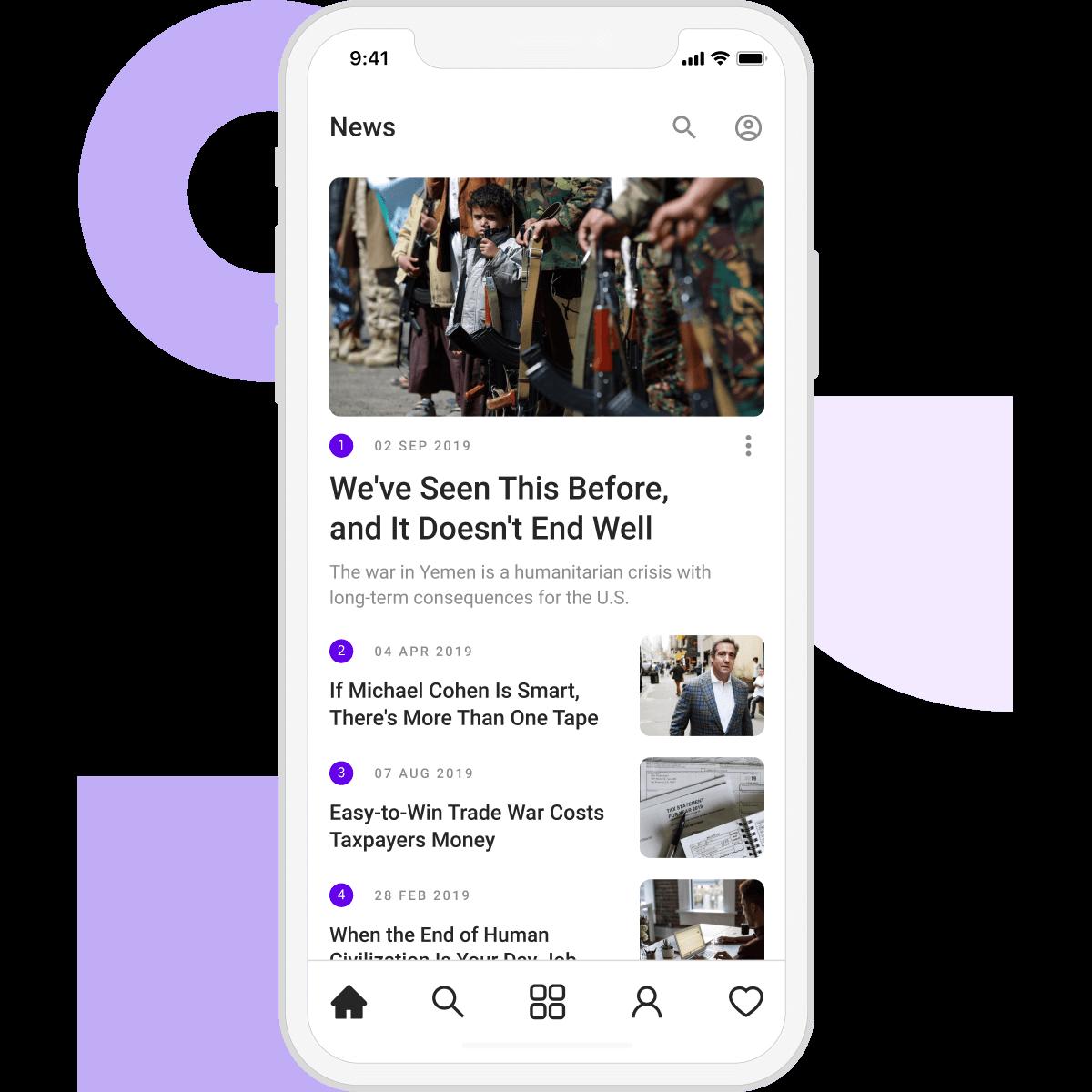 Build a news app today!