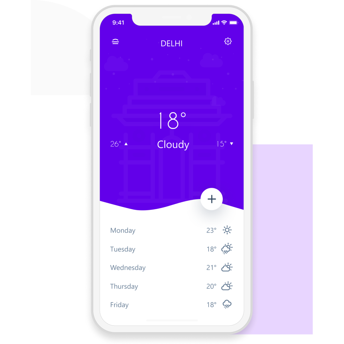 Build a weather forecasting app