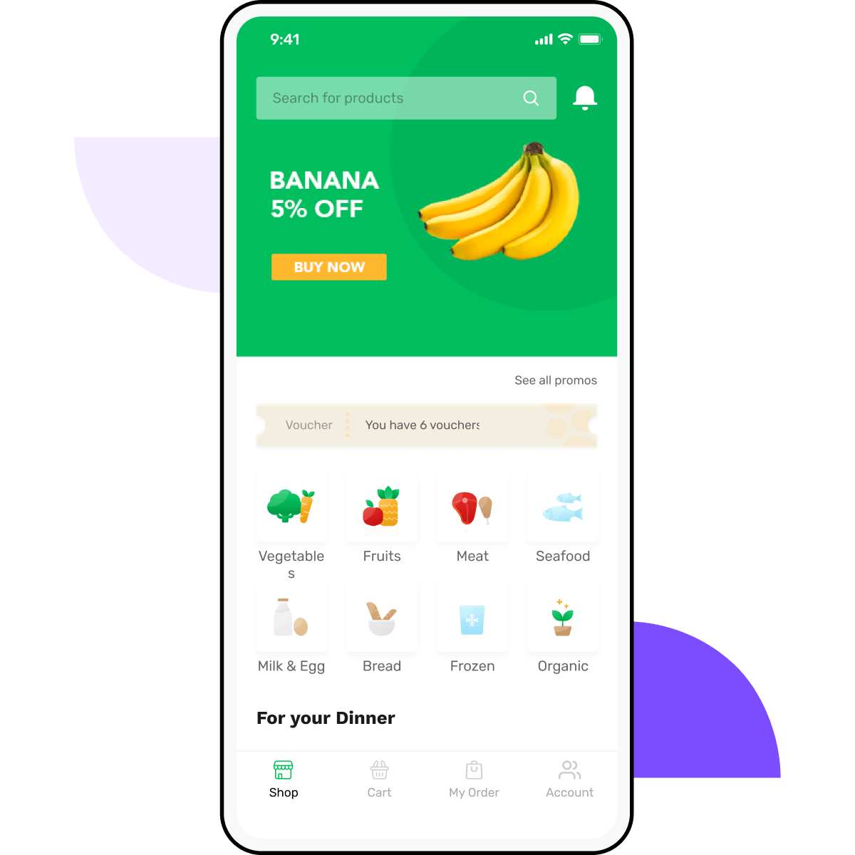 Build a grocery delivery app - fast