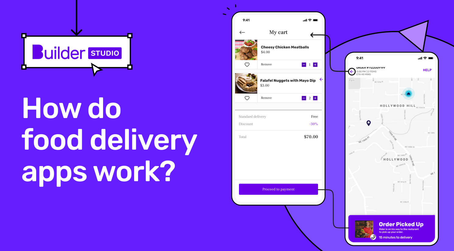 How do food delivery apps work?