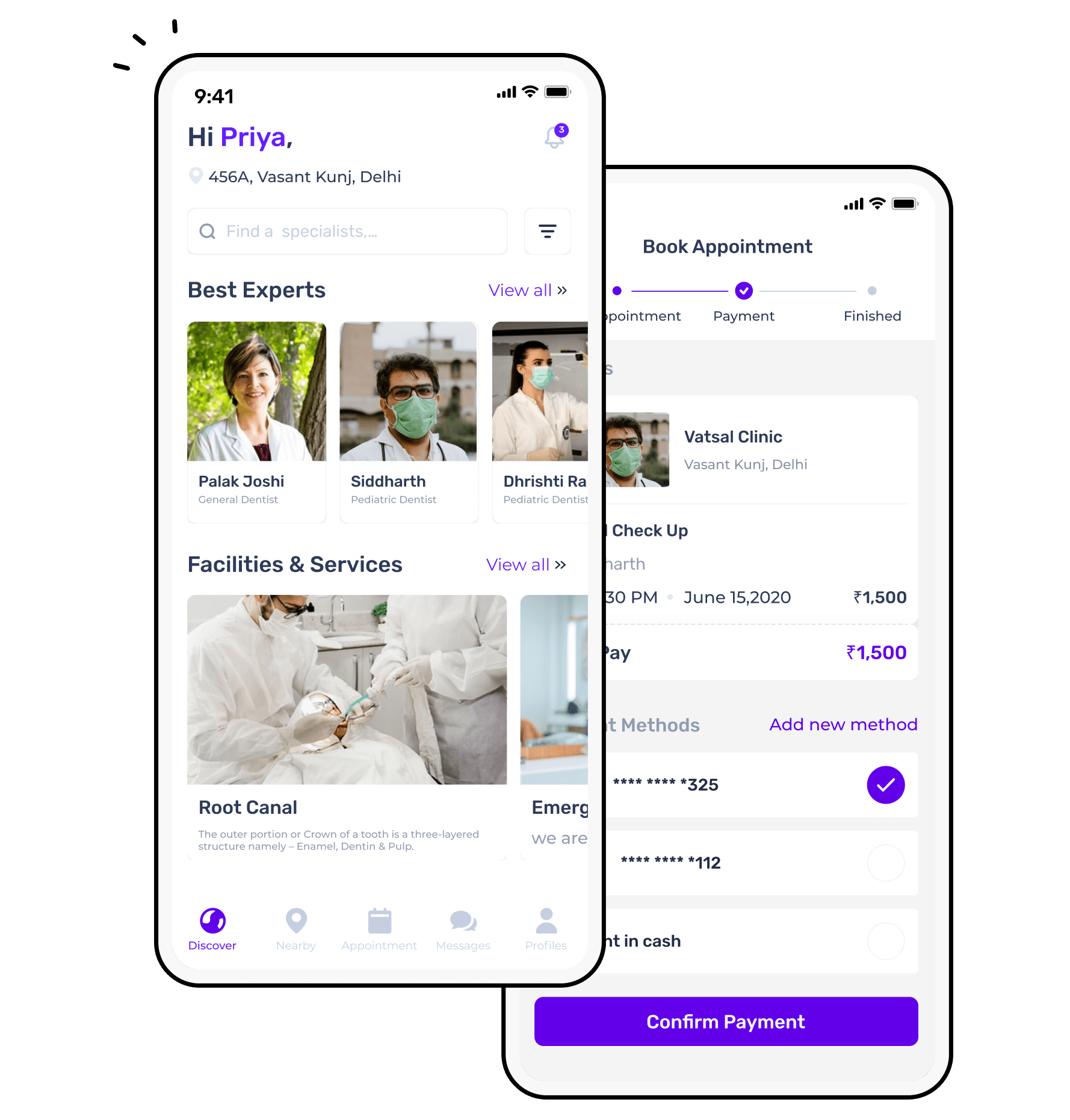 Doctors app for android platform