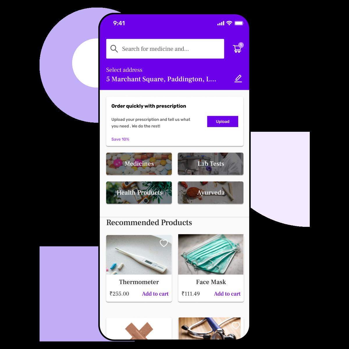 Build a medicine delivery app