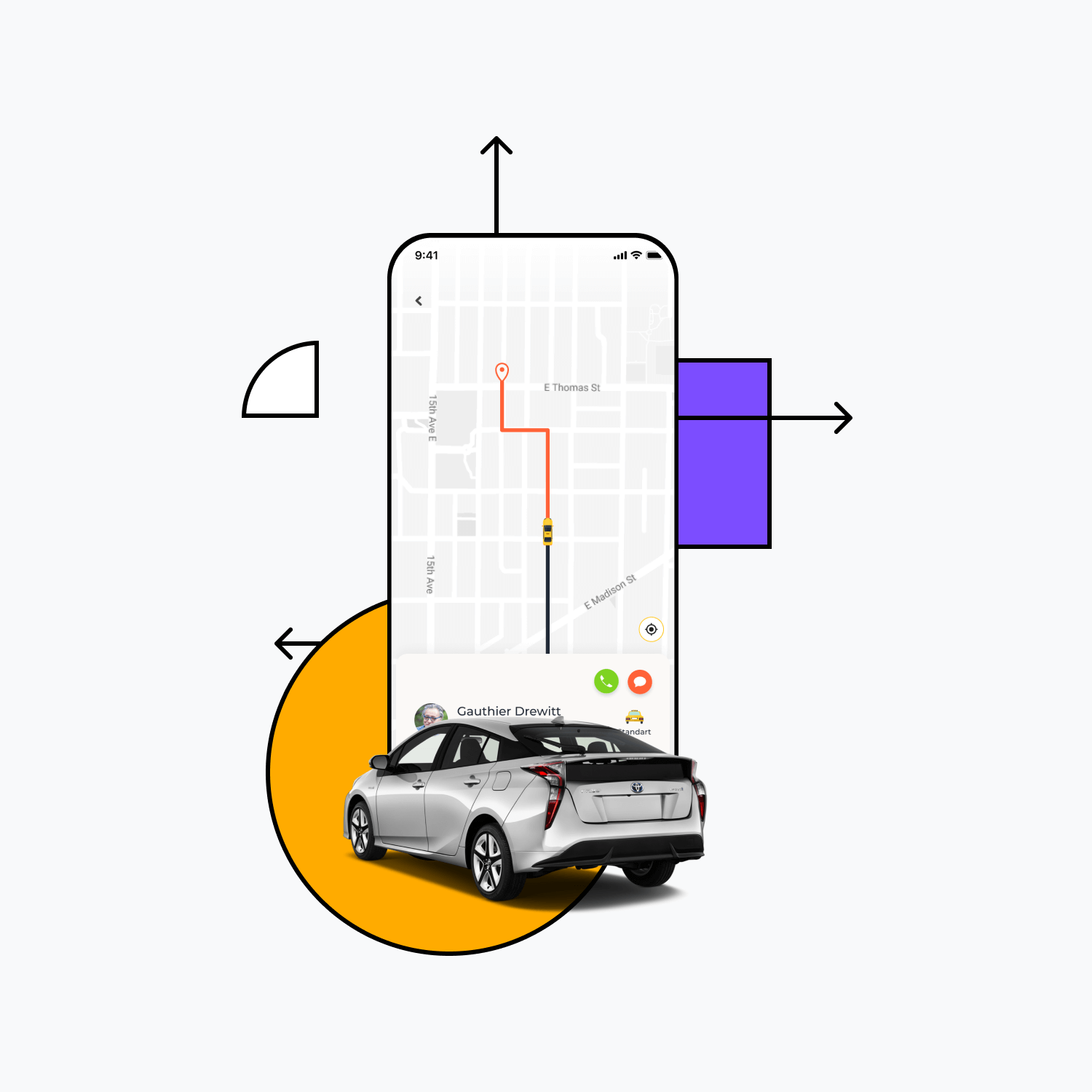 Build your own taxi booking app, today