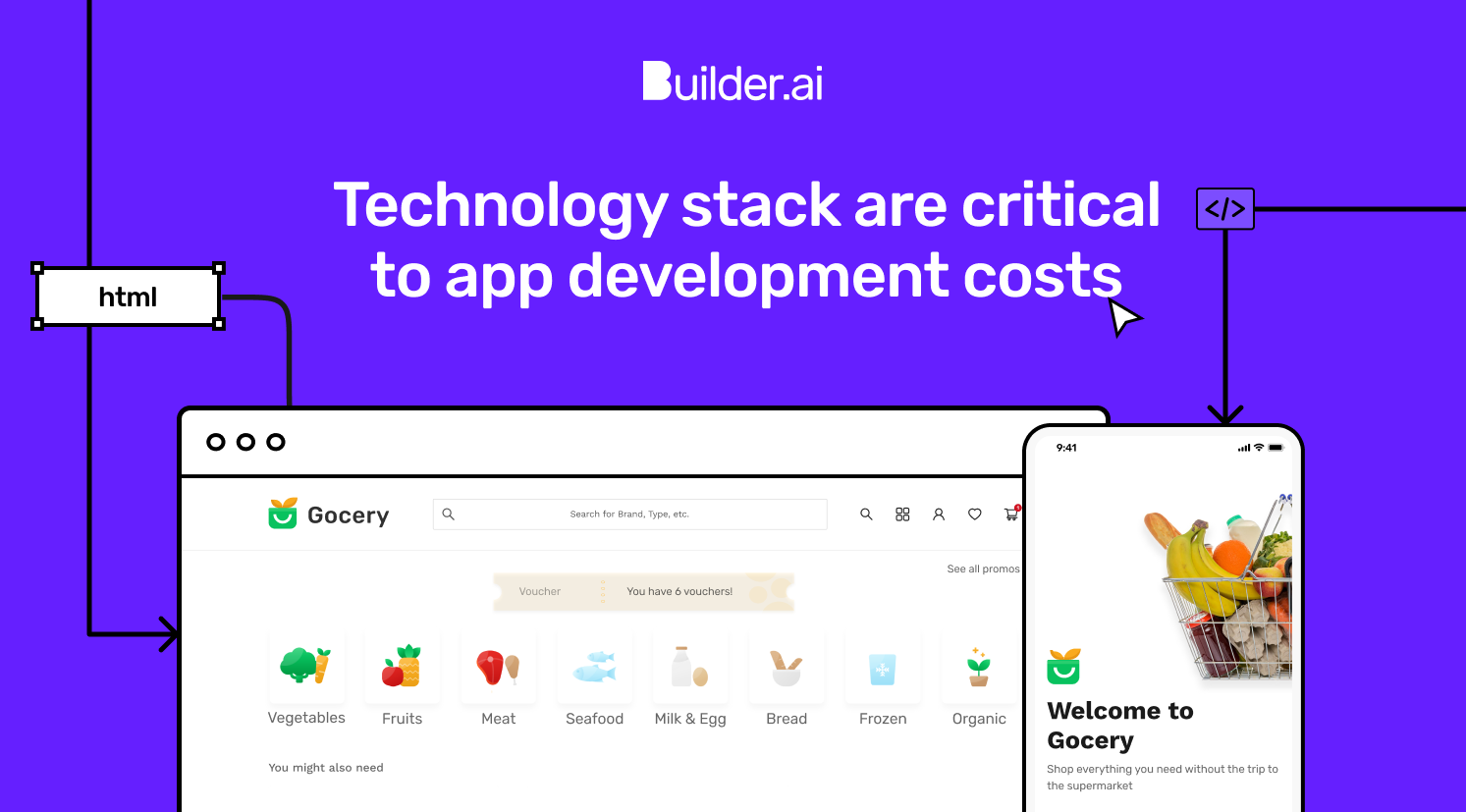 Technology stacks are critical to app development costs