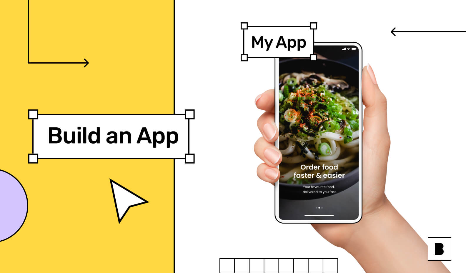 Build an app without writing any code to build your brand