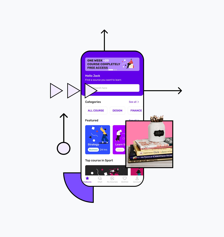 Build e-learning platform