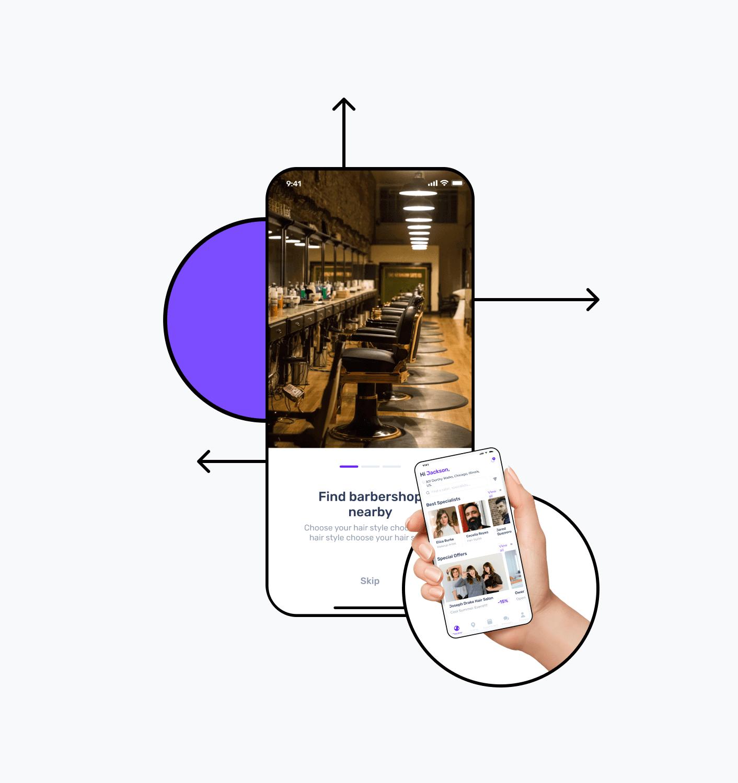 Build a salon app
