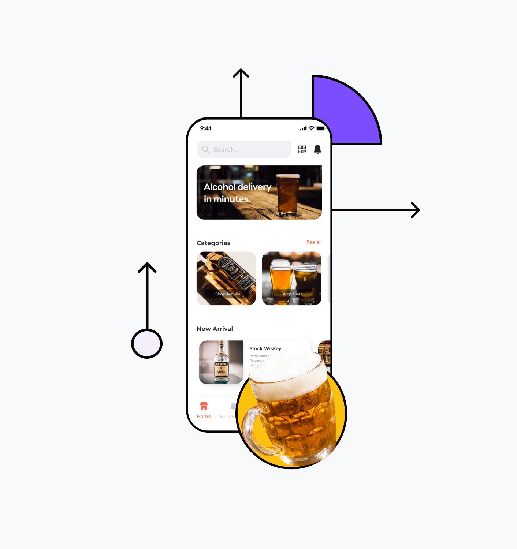 Build a liquor delivery app